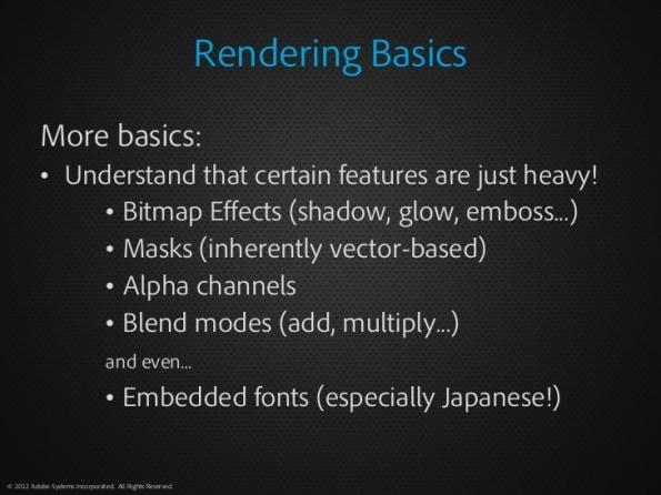 rendering basics